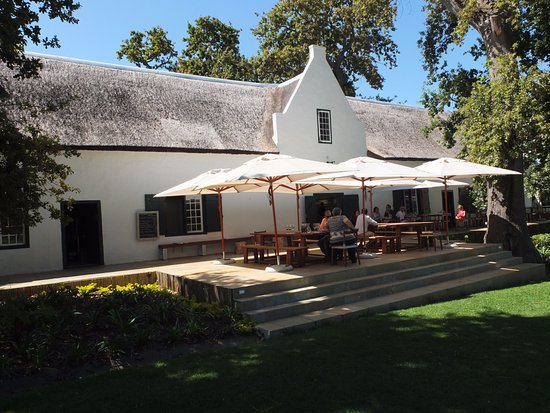 Constantia, Güney Afrika: Tasting Rooms