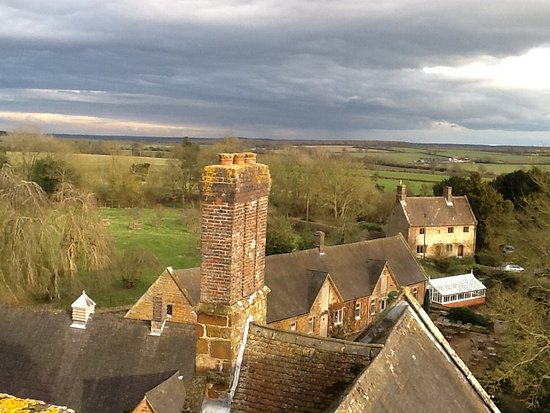 Daventry, UK: View from the roof 1