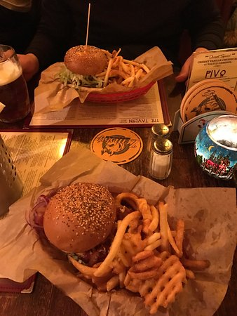 Photo of Burger Joint The Tavern at Chopinova 1521/26, Praha 2 120 00, Czech Republic