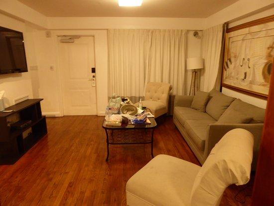 Villa Italia Hotel: Living room in Villa Italia villa