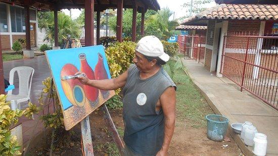 Leon Department, Nicaragua: Oficina Nacional de la Red Nacional de Guías Turísticos de Nicaragua desde la Ciudad Heroica de