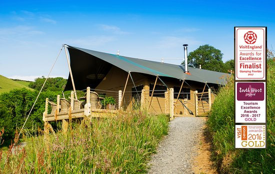 Combe Martin, UK: Award winning Glamping in North Devon