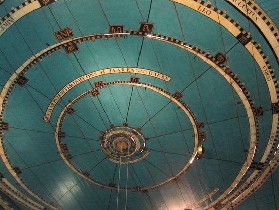 Franeker, Países Bajos: het plafond van de slaapkamer