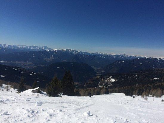 Afritz, النمسا: op de berg Gerlitz op 10 minuten vanaf onderaan berg van hotel