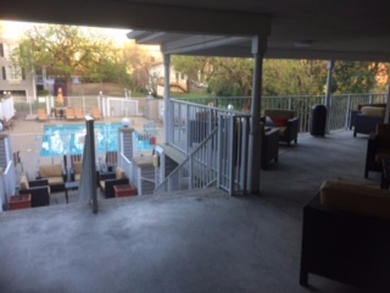 Athens, GA: Pool and outside area