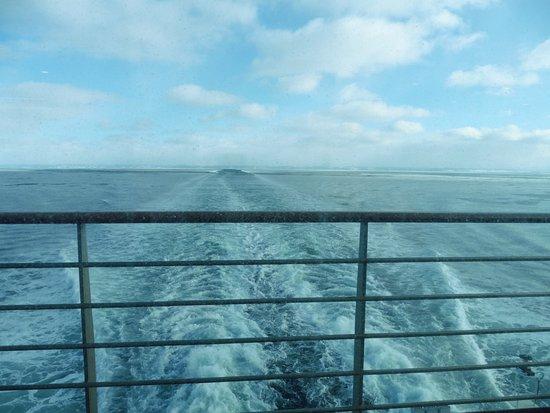Baie Comeau, Canada: vue depuis le pont arriere