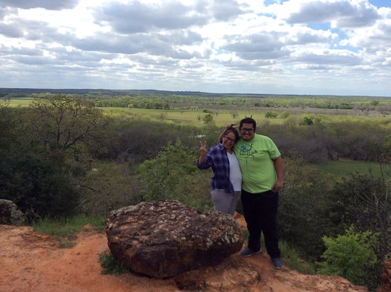 Gonzales, TX : Beautiful picture with my son.