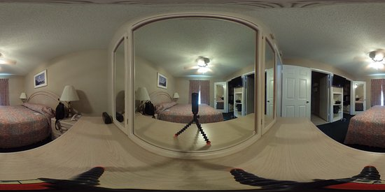 Donna, TX: 360 View of the master bedroom- with camera on the dresser