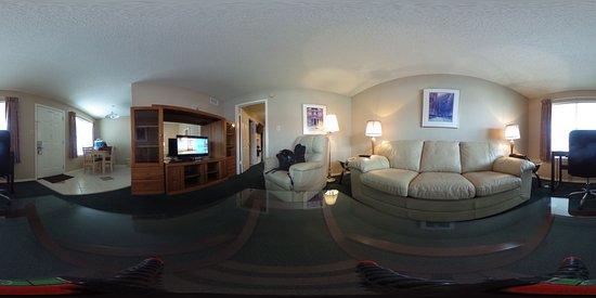 ดอนนา, เท็กซัส: 360 View of the Livingroom space- Camera on the coffee table