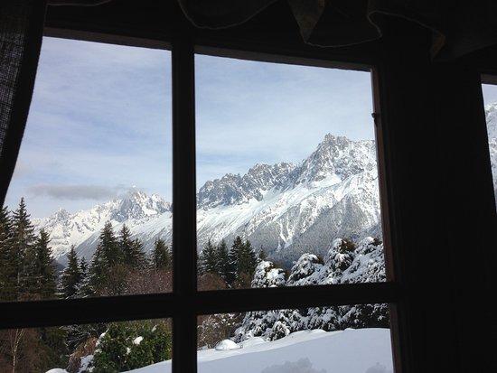 Les Houches, Francia: la chaine du Mont Blanc