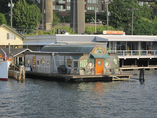 Argosy Cruises - Lake Union : Tui Tui floating home