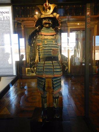 Armeria Reale: L'armatura giapponese