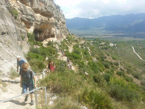 Ulldecona, Spanyol: Subida a las pinturas