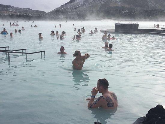 Grindavik, İzlanda: Beautiful blue lagoon