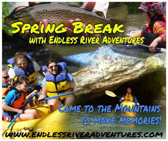 Endless River Private Adventures: Forget the beeach and come to the Smoky Mountains for your spring break!