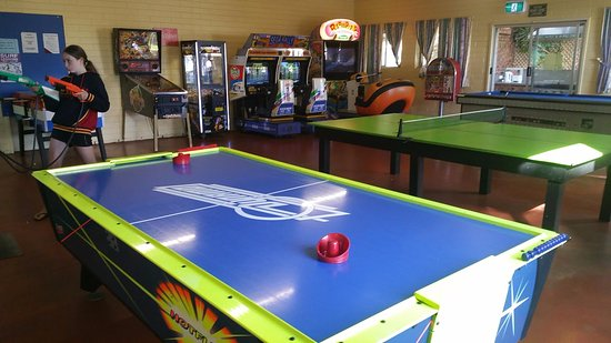 Normanville, Αυστραλία: Games room equip with everything you need to entertain the little or big kids