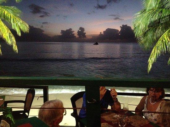 Bombas restaurant, Mullins, Barbados, 12/3/17