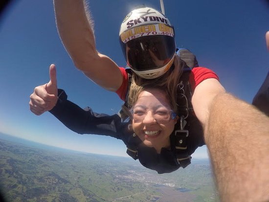 Novato, CA: Skydiving San Francisco gets a big thumbs up!