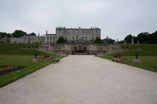 Powerscourt Gardens and House: Powers Court House and Gardens