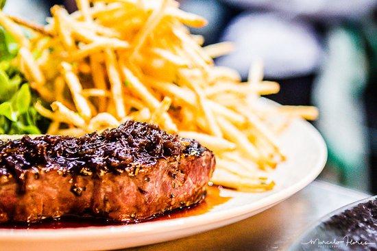 Peregian Beach, Austrália: Steak frite
