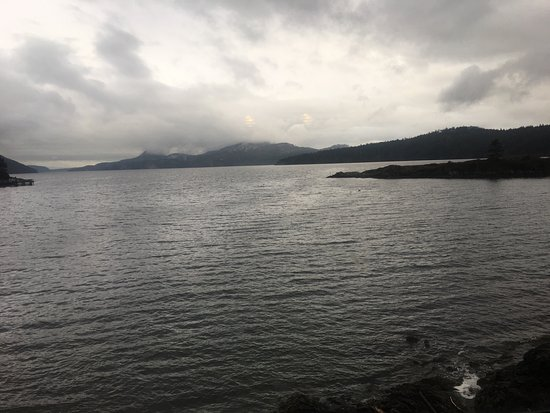 Eastsound, WA: The view from the table