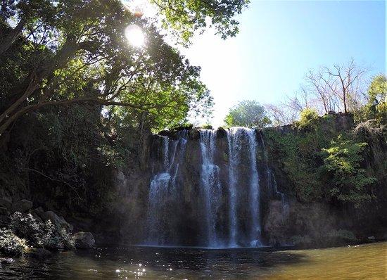 Golf von Papagayo, Costa Rica: Waterfall