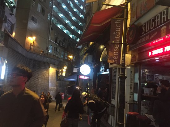 Photo of Monument / Landmark Lan Kwai Fong at 中西區雲咸街, Hong Kong 00000, Hong Kong