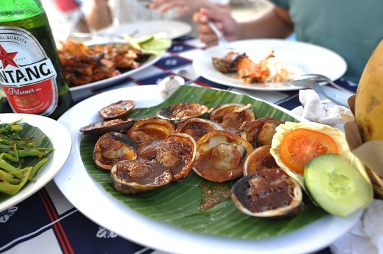 Bayang Cafe : some kinds of mussel