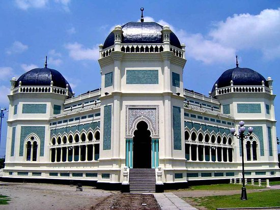 Image result for Masjid Raya Medan