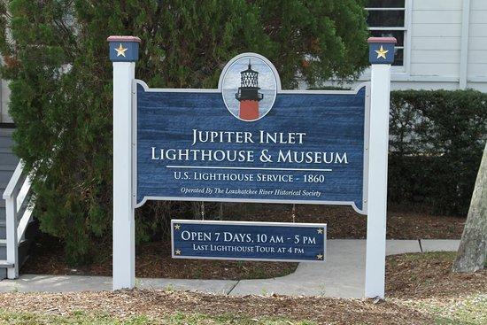Jupiter Inlet Lighthouse & Museum: à l'entrée