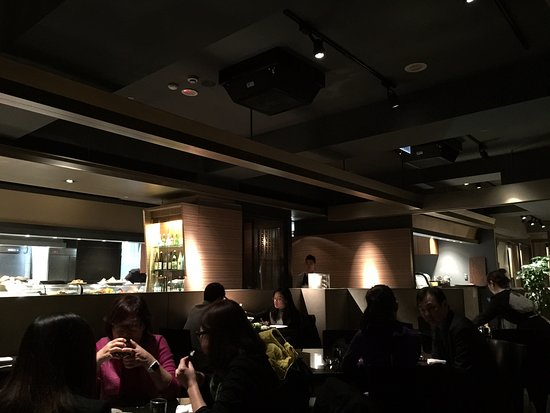 Cozy Ambience Fine Dining Feel Picture Of Mitsui Zhongshan District Tripadvisor