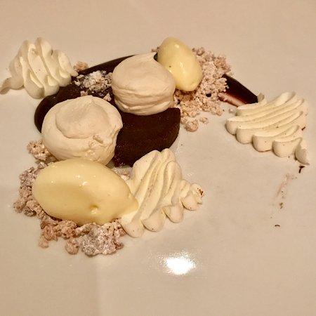 Restaurant August: chocolate dessert II (best of the night)