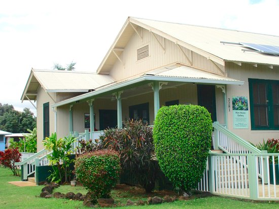 Koloa, HI: Alan Akana Gallery, at the historic Smith Family Parsonage