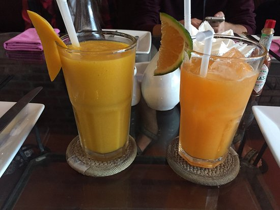 Green Mango : מקום ממש מעולה! קצת יקר ביחס למסעדות בויאטנם אבל אוכל טעים מאוד, פיצה מצוינת ומיצים טבעיים  באנו