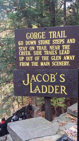 Niagara Gorge Trail : The entrance to Gorge trail