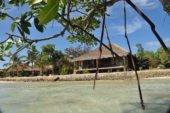 Popototan Island, Philippines: オーシャンビューのコテージでデッキにはハンモックがあり快適