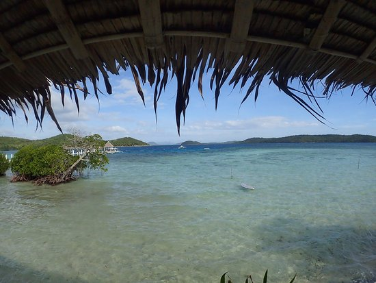 Coral Bay Beach & Dive Resort: 部屋からの眺めは最高でした