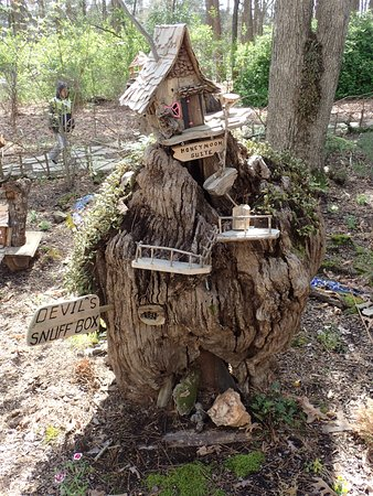 Fairy Garden - Picture of Garvan Woodland Gardens, Hot Springs ... on