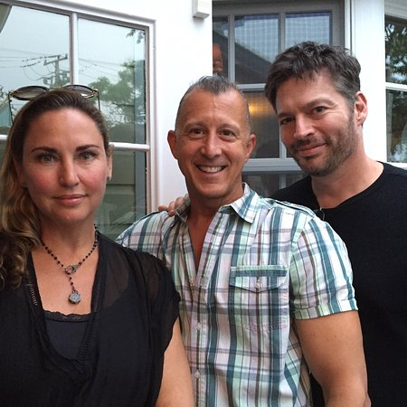 Victor's Restaurant : Harry Connick Jr & wife Jill on their yearly Victor's visit!