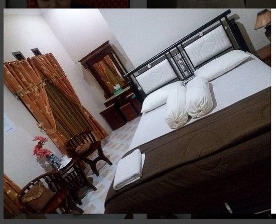 South Sulawesi, Indonezja: Bedroom of Mutya Rejeki Homestay, Soppeng
