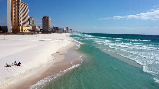 Crystal Sands Beach Panama City In January