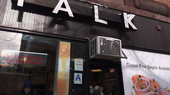 Photo of American Restaurant Bagel Talk at 368 Amsterdam Ave, New York, NY 10024, United States