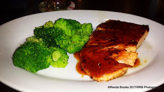 Aberdeen, SD: Hickory Bourbon Salmon and Broccoli