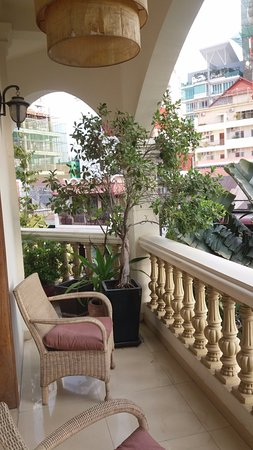 Anise Hotel: Balcony off my room.