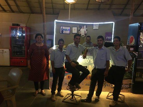 Eco Sun and Moon: Sanjay, Meena & the crew