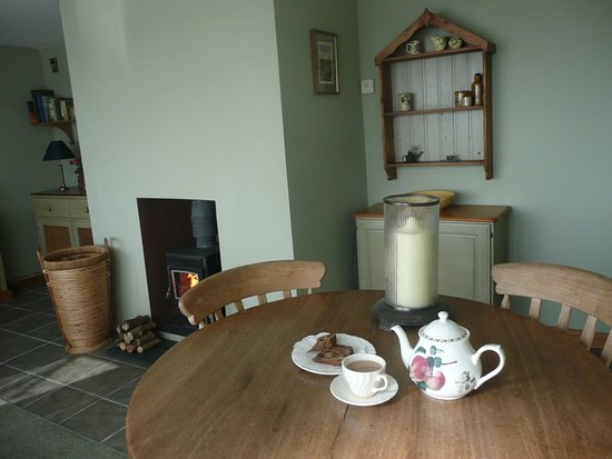 Bratton Fleming, UK: Enjoy a wonderful breakfast to set you up for the day