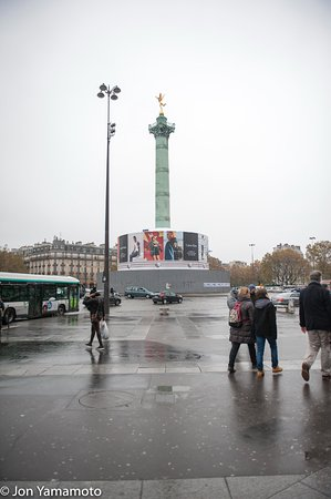 Photo of Historic Site Place de la Bastille at Paris, France