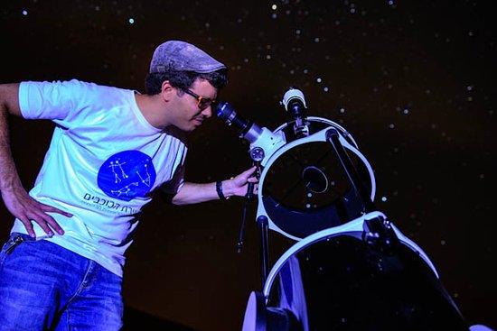 ירוחם, ישראל: תצפית כוכבים ופעילויות אסטרונומיה עם טלסקופים