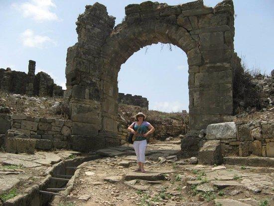 Aspendos Ruins and Theater: Руины акведука в Аспендосе