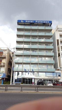 Athens Poseidon Hotel : πρόσοψη ξενοδοχείου